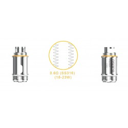Aspire PockeX Coils 0.6 Ohm 5 Pack
