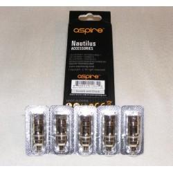 Aspire Nautilus BVC Coil 5 Pack