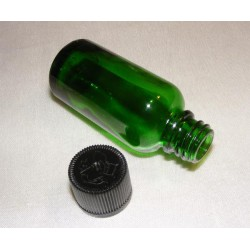 30ml Green Glass Bottle